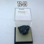 SCHORL..  15mm  Naurual Crystal Specimen in display box